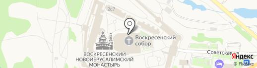 Собор Воскресения Христова на карте Истры