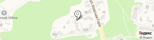 Школа спортивной акробатики Гургенидзе на карте Звенигорода