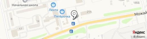 Шиномонтажная мастерская на карте Часцов