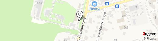 Фермерский дом на карте Звенигорода