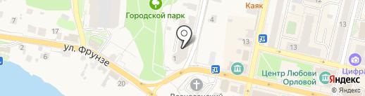 Сберкредитсоюз на карте Звенигорода