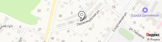 Мега Консалт на карте Звенигорода