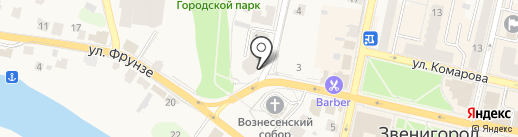 Aerocker на карте Звенигорода