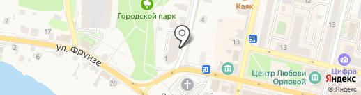 Империя кварца на карте Звенигорода