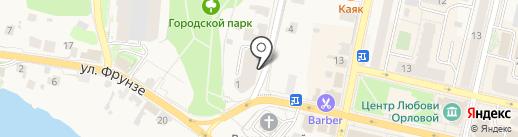 Юридическое агентство на карте Звенигорода