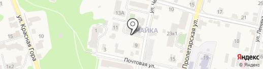 Запад-МГ на карте Звенигорода