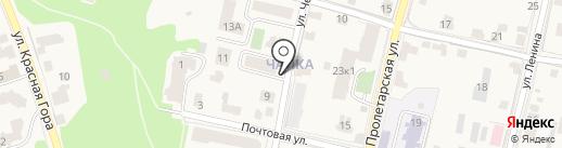 Магазин продуктов на карте Звенигорода