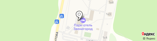Банкомат, Банк ФК Открытие, ПАО на карте Звенигорода