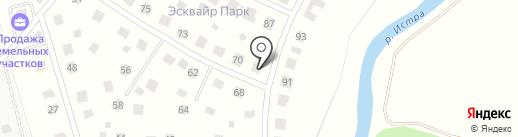 Эсквайр парк на карте Северного