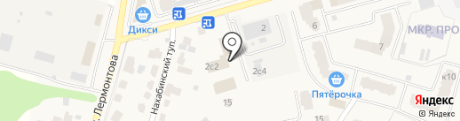ЧИСТЫЙ ГОРОД на карте Звенигорода