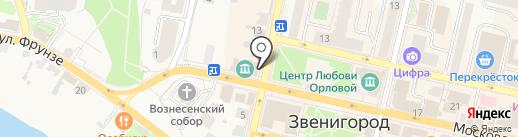 Чердачок на карте Звенигорода