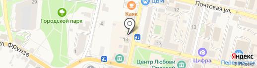 Доктор Любви на карте Звенигорода