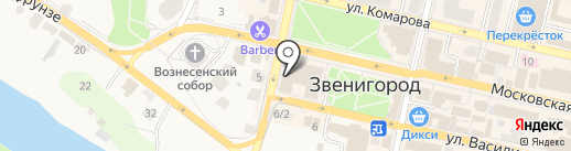 Fitness On на карте Звенигорода