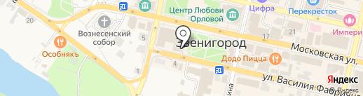 АКБ Инвестторгбанк, ПАО на карте Звенигорода