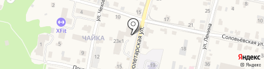 Банк Возрождение, ПАО на карте Звенигорода