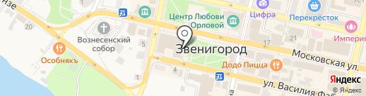 Татьяна Прованс на карте Звенигорода