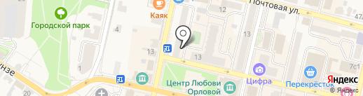 Солнечная Верона на карте Звенигорода