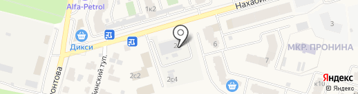 Звенигородские инженерные сети на карте Звенигорода