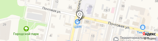 GoToTravel на карте Звенигорода