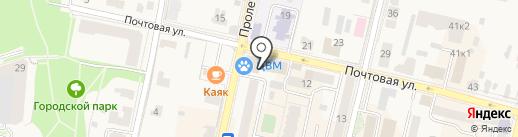 Бэст-Трэвел на карте Звенигорода