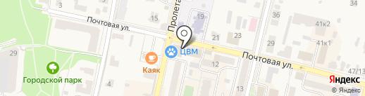 АПБ Гранит на карте Звенигорода