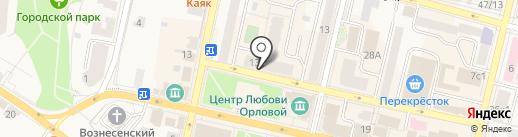 Окна Family на карте Звенигорода