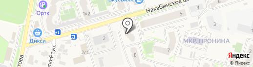 Okonix на карте Звенигорода