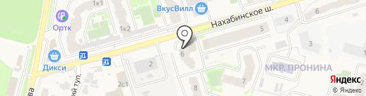 Стройхоз на карте Звенигорода