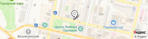 Удивительный Жираф на карте Звенигорода