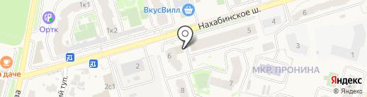 Крестьянский двор на карте Звенигорода