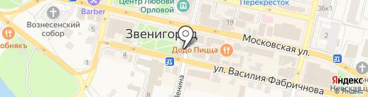 МТС на карте Звенигорода