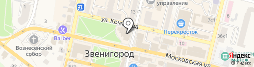 Культурный центр им. Л.П. Орловой на карте Звенигорода