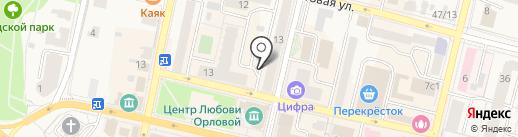 Источник здоровья на карте Звенигорода