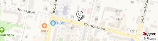 Почта Банк, ПАО на карте Звенигорода