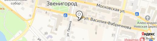 Комфорт на карте Звенигорода