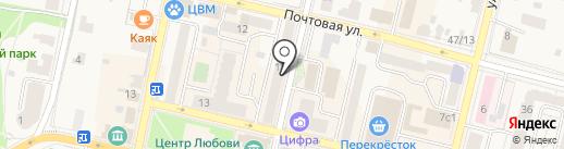 Звенигородский отдел ЗАГС на карте Звенигорода