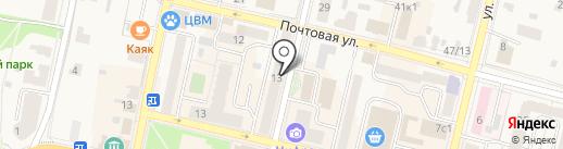 КАРДИО на карте Звенигорода