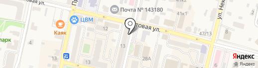 Магазин горящих путевок на карте Звенигорода