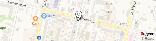 Элекснет на карте Звенигорода