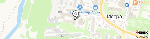 Отдел МВД России по Истринскому району на карте Истры