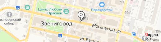 Tirebus на карте Звенигорода