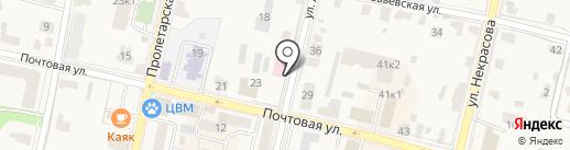 Званый вечер на карте Звенигорода