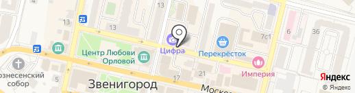 Мебельный магазин на карте Звенигорода