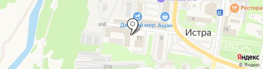 Участковый пункт полиции на карте Истры