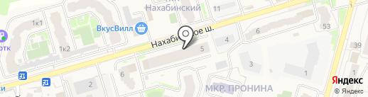 Магазин строительных материалов на карте Звенигорода