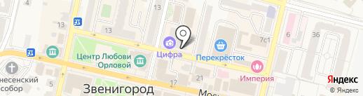 Био Недвижимость на карте Звенигорода