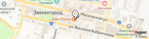 Звенигородское бюро переводов на карте Звенигорода