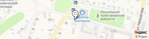 Киоск по продаже колбасных изделий на карте Звенигорода