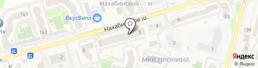 Parterre de Fleurs на карте Звенигорода