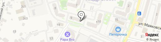 Bee-art на карте Звенигорода